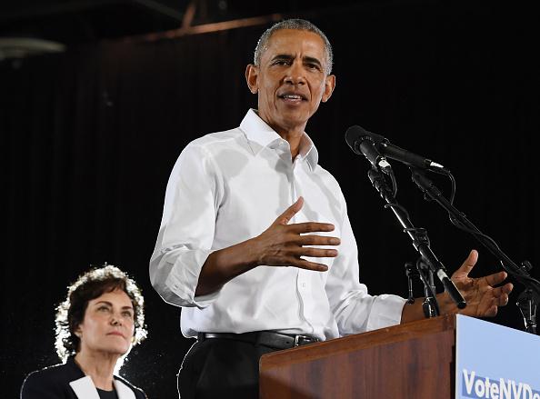 University of Nevada Las Vegas「Former President Obama Speaks At Rally For Nevada Democrats In Las Vegas」:写真・画像(13)[壁紙.com]
