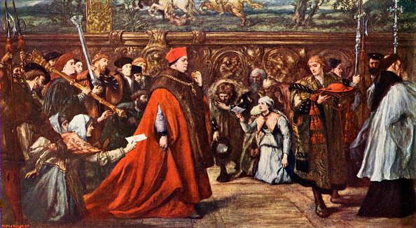 Tudor Style「Cardinal Wolsey going to Westminster Hall」:写真・画像(7)[壁紙.com]