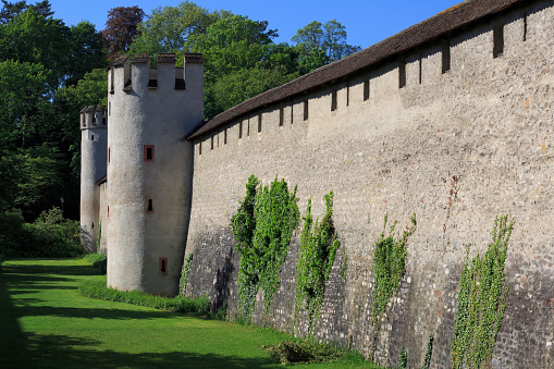 Overgrown「Old city wall, St Alban, Basel, Switzerland」:スマホ壁紙(14)