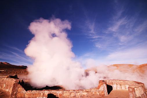 Tatio Geysers「El Tatio geyser, Atacama Desert, Chile」:スマホ壁紙(14)