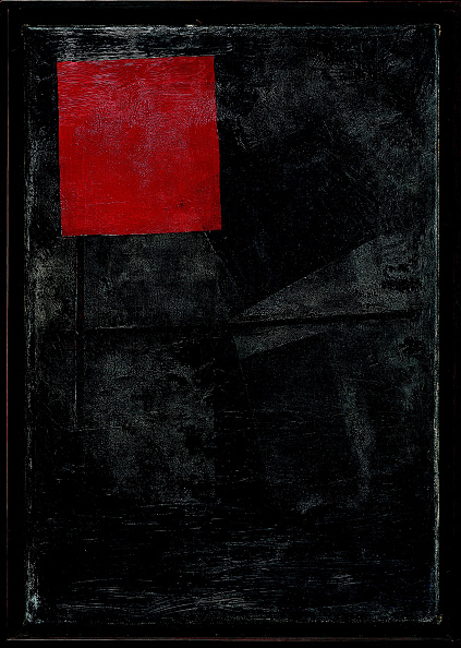 Painting - Activity「Red Square On A Black Background 1920-1924」:写真・画像(13)[壁紙.com]