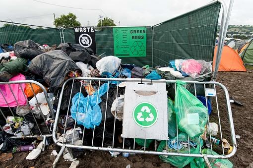 Music Festival「recycling waste area at festival」:スマホ壁紙(1)