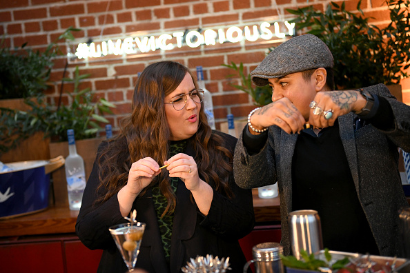 Aidy Bryant「Grey Goose Takes Over New York Happy Hour to Launch Live Victoriously」:写真・画像(8)[壁紙.com]