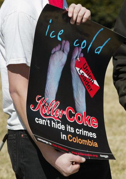Tim Boyle「Coca-Cola Workers In Colombia Begin Hunger Strike」:写真・画像(11)[壁紙.com]