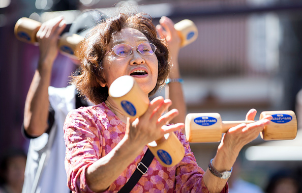 Japan「'Respect For Aged' Day In Japan」:写真・画像(7)[壁紙.com]