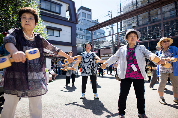 Japan「'Respect For Aged' Day In Japan」:写真・画像(8)[壁紙.com]
