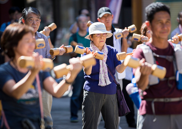 Japan「'Respect For Aged' Day In Japan」:写真・画像(6)[壁紙.com]