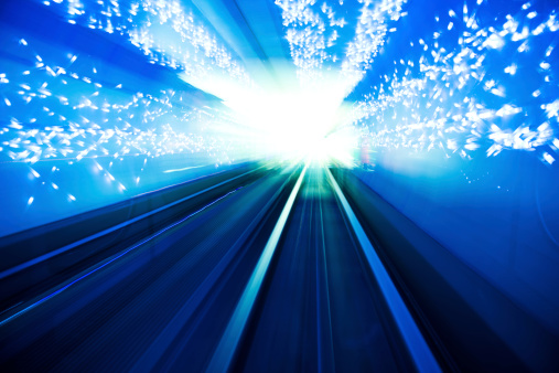 Zoom「light tunnel」:スマホ壁紙(11)