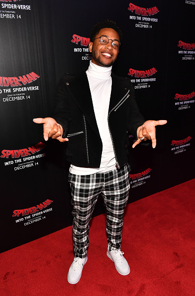 Checked Pants「'Spiderman Into The Spider-Verse' Screening In Atlanta」:写真・画像(4)[壁紙.com]