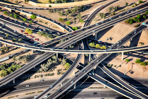 Elevated Road「Phoenix Freeway Interchange From Above」:スマホ壁紙(19)