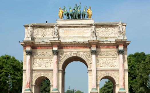 Arc de Triomphe - Paris「Triumphal Arch, Paris」:スマホ壁紙(14)