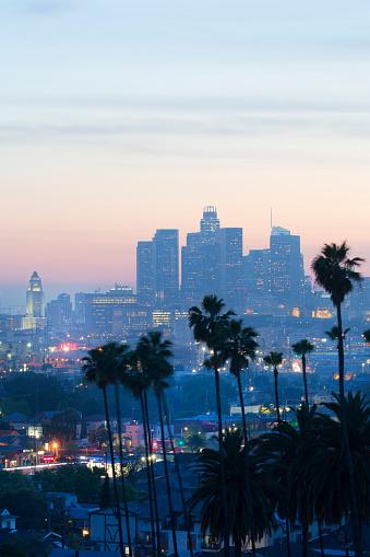 City Of Los Angeles「View of city.」:スマホ壁紙(3)