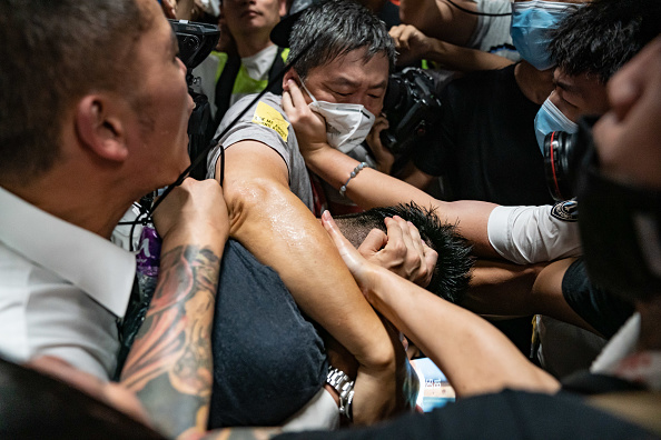 Hong Kong International Airport「Unrest In Hong Kong During Anti-Government Protests」:写真・画像(4)[壁紙.com]