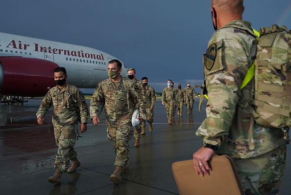 Army Soldier「U.S. Troops Arrive In Poland For Military Exercises」:写真・画像(6)[壁紙.com]