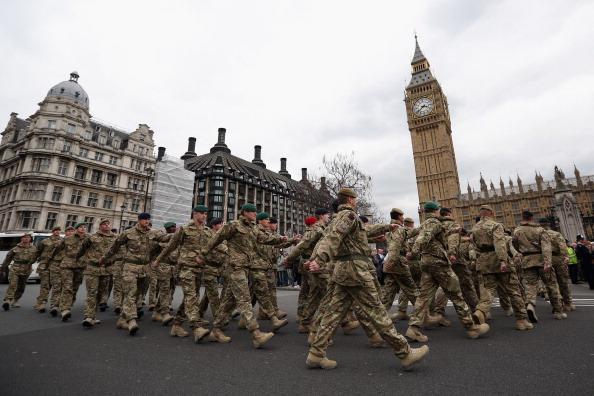 Oli Scarff「4th Mechanized Brigade To Parade Through London」:写真・画像(2)[壁紙.com]