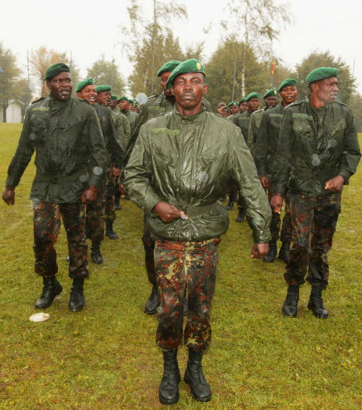 Front View「Belgian Soldiers Train Military Officers For DR Congo」:写真・画像(4)[壁紙.com]