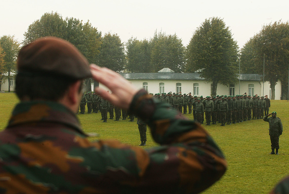Focus On Background「Belgian Soldiers Train Military Officers For DR Congo」:写真・画像(12)[壁紙.com]