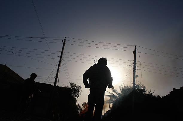 """US """"Surge"""" Soldiers Patrol Tense Baghdad Neighborhood:ニュース(壁紙.com)"""