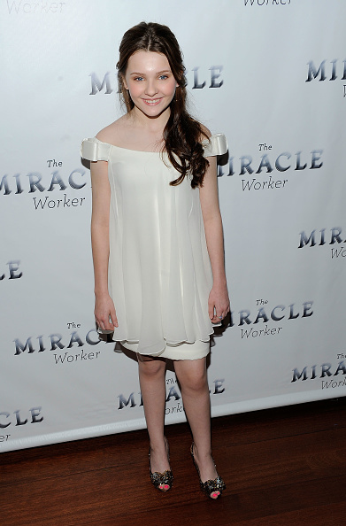 """Abigail Breslin「Broadway Opening Of """"The Miracle Worker"""" - After Party」:写真・画像(6)[壁紙.com]"""
