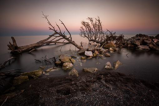 ビーチ「変更された海岸線ポイント ペレ国立公園」:スマホ壁紙(6)