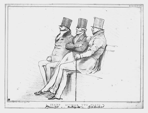 Cartoon「A Sharp Between Two Flats」:写真・画像(12)[壁紙.com]