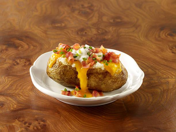 Stuffed Baked Potato:スマホ壁紙(壁紙.com)