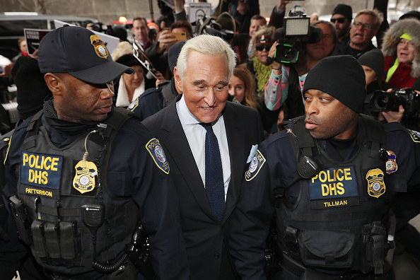 Advice「Roger Stone Arraigned On Charges Of Obstruction And Witness Tampering In Russia Investigation」:写真・画像(9)[壁紙.com]
