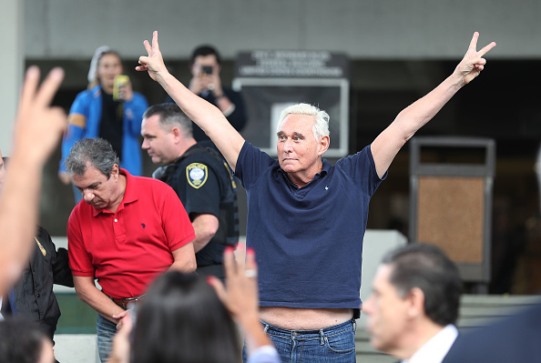 Advice「Former Trump Associate Roger Stone Arrested In Charges Related To Mueller Investigation」:写真・画像(15)[壁紙.com]