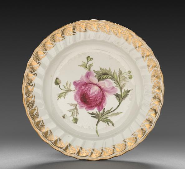 Crockery「Plate From Dessert Service: Anemone」:写真・画像(7)[壁紙.com]