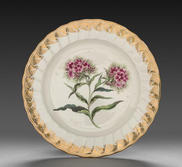 Plate「Plate From Dessert Service: Sweet William」:写真・画像(5)[壁紙.com]
