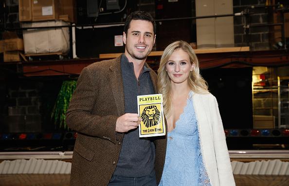 The Lion King「'Bachelor' Ben Higgins And Fiancee Lauren Bushnell Visit 'The Lion King' On Broadway」:写真・画像(2)[壁紙.com]