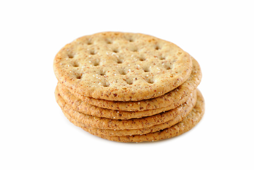Cookie「A pile of six crackers stacked on top of each other 」:スマホ壁紙(0)