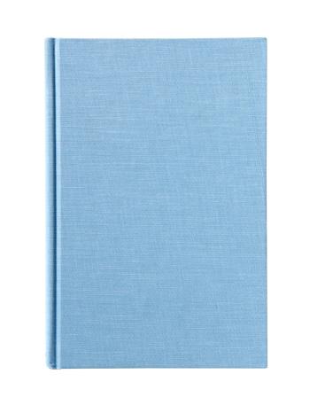 Diary「Blue workbook on white background」:スマホ壁紙(12)