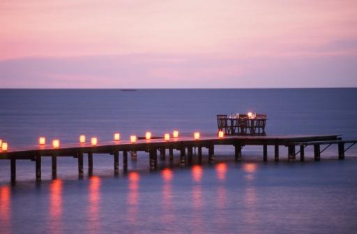Lake Victoria「Dinner Table Setting on a Pier at Dusk」:スマホ壁紙(7)