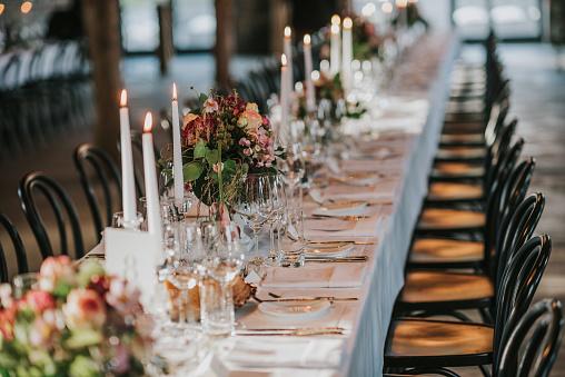 Wedding Ceremony「Dinner table」:スマホ壁紙(16)