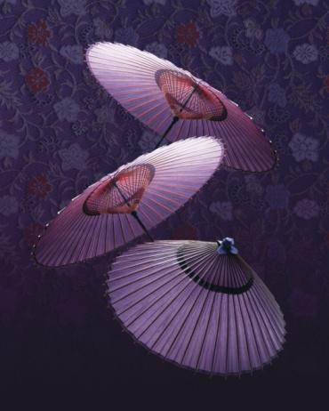 和柄「Coarse oilpaper umbrellas, composition」:スマホ壁紙(15)