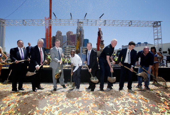 WBC「MGM Resorts And AEG Break Ground On New Las Vegas Arena」:写真・画像(1)[壁紙.com]