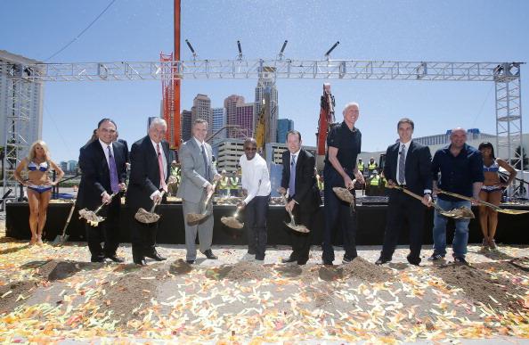 WBC「MGM Resorts And AEG Break Ground On New Las Vegas Arena」:写真・画像(9)[壁紙.com]
