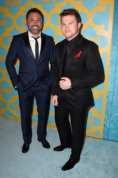 Saul Alvarez「HBO's Post 2015 Golden Globe Awards Party - Arrivals」:写真・画像(7)[壁紙.com]
