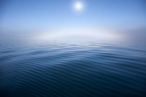 Pacific Ocean「A view of calm seas in morning.」:スマホ壁紙(2)