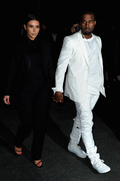White Suit「Givenchy - Arrivals - PFW F/W 2013」:写真・画像(8)[壁紙.com]