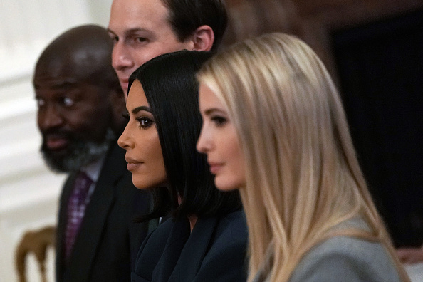 Kim Kardashian「President Donald Trump Delivers Remarks On Second Chance Hiring Initiative」:写真・画像(12)[壁紙.com]