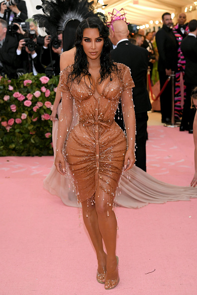 Kim Kardashian「The 2019 Met Gala Celebrating Camp: Notes on Fashion - Arrivals」:写真・画像(8)[壁紙.com]