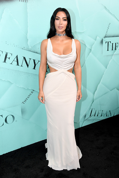 Kim Kardashian「Tiffany & Co. Celebrates 2018 Tiffany Blue Book Collection, THE FOUR SEASONS OF TIFFANY - Arrivals」:写真・画像(18)[壁紙.com]
