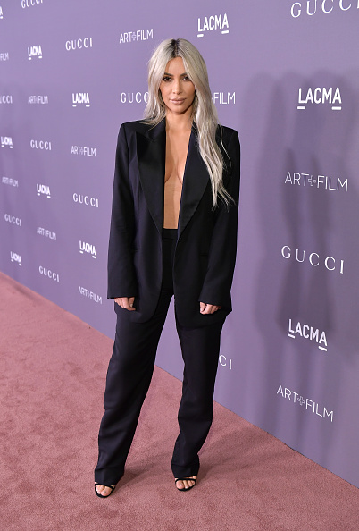 Kim Kardashian「2017 LACMA Art + Film Gala Honoring Mark Bradford And George Lucas Presented By Gucci - Red Carpet」:写真・画像(4)[壁紙.com]