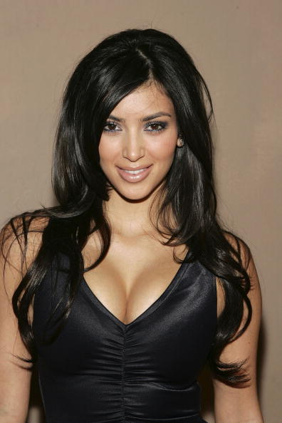 Kim Kardashian「A Midsummer Night's Dream Celebrity Poker - Arrivals」:写真・画像(1)[壁紙.com]