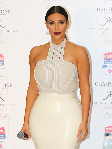"New「Kim Kardashian Promotes Her New Fragrance ""Fleur Fatale"" In Melbourne」:写真・画像(1)[壁紙.com]"