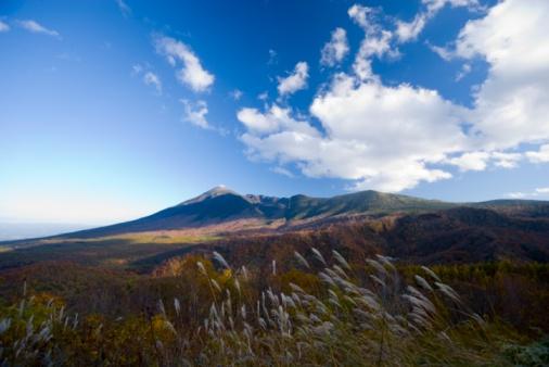 Japanese pampas grass「Scenic Autumn landscape, Hachimantai, Iwate Prefecture, Japan」:スマホ壁紙(7)