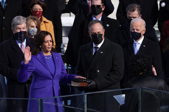 Presidential Inauguration「Joe Biden Sworn In As 46th President Of The United States At U.S. Capitol Inauguration Ceremony」:写真・画像(16)[壁紙.com]