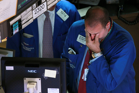 Recession「Dow Slides Heavily On Global Economic Worries」:写真・画像(6)[壁紙.com]